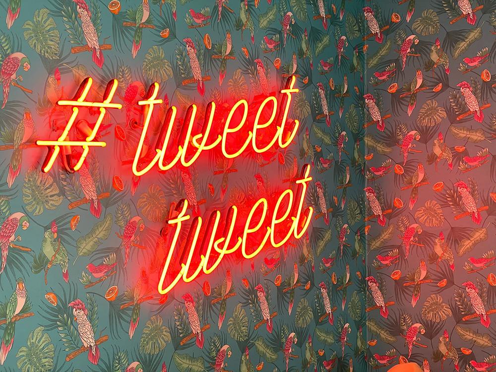 tweet tapete