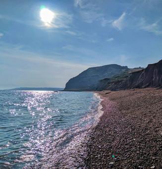 Seatown Beach, Dorset