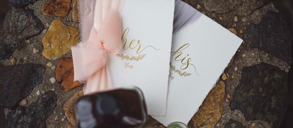 Wedding vows inspo