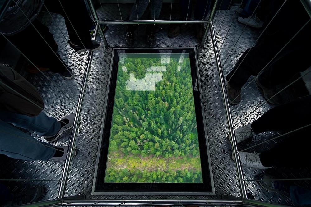 Glass floor - Peak to Peak Whistler