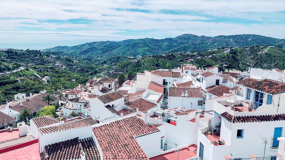 cityscape of Frigiliana