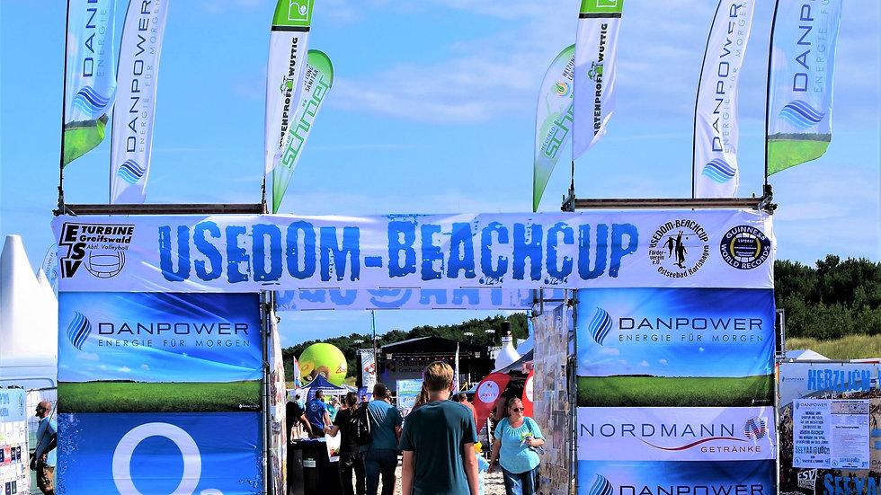 Beach Flag with Aluminum Pole