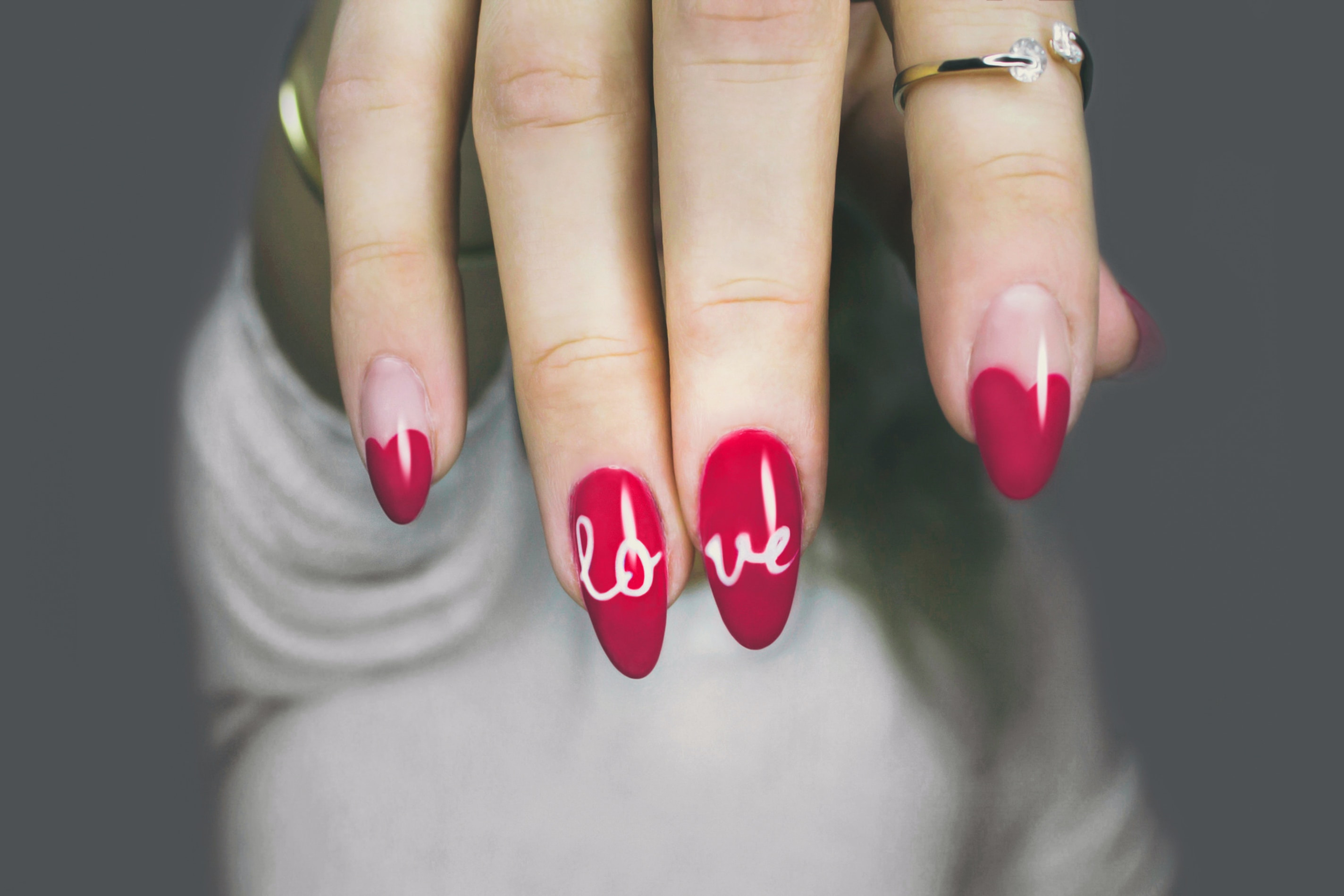 Gel nail extensions (sculpted)
