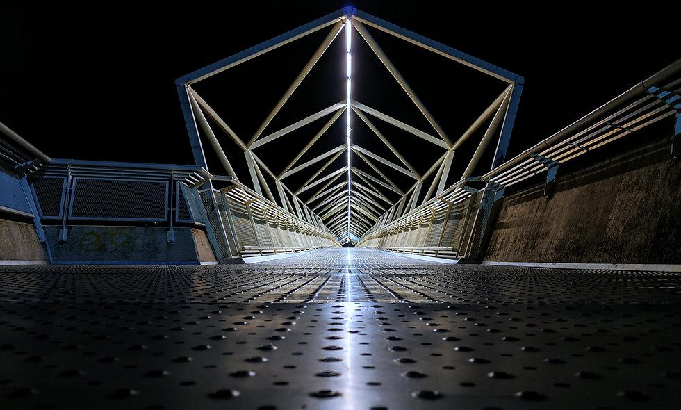 C-Street Footbridge