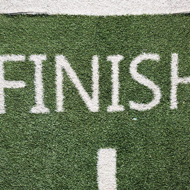 Forward ~ Finish: You're Not Done Until You're Done