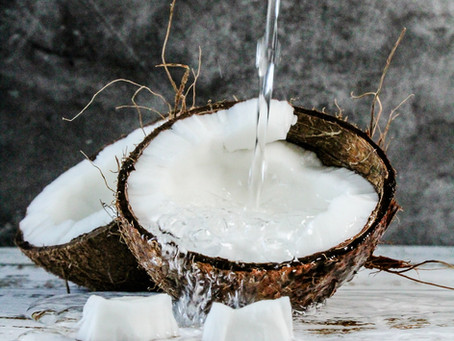 Keeping your Body Cool (Water-Rich Foods): COCONUT WATER