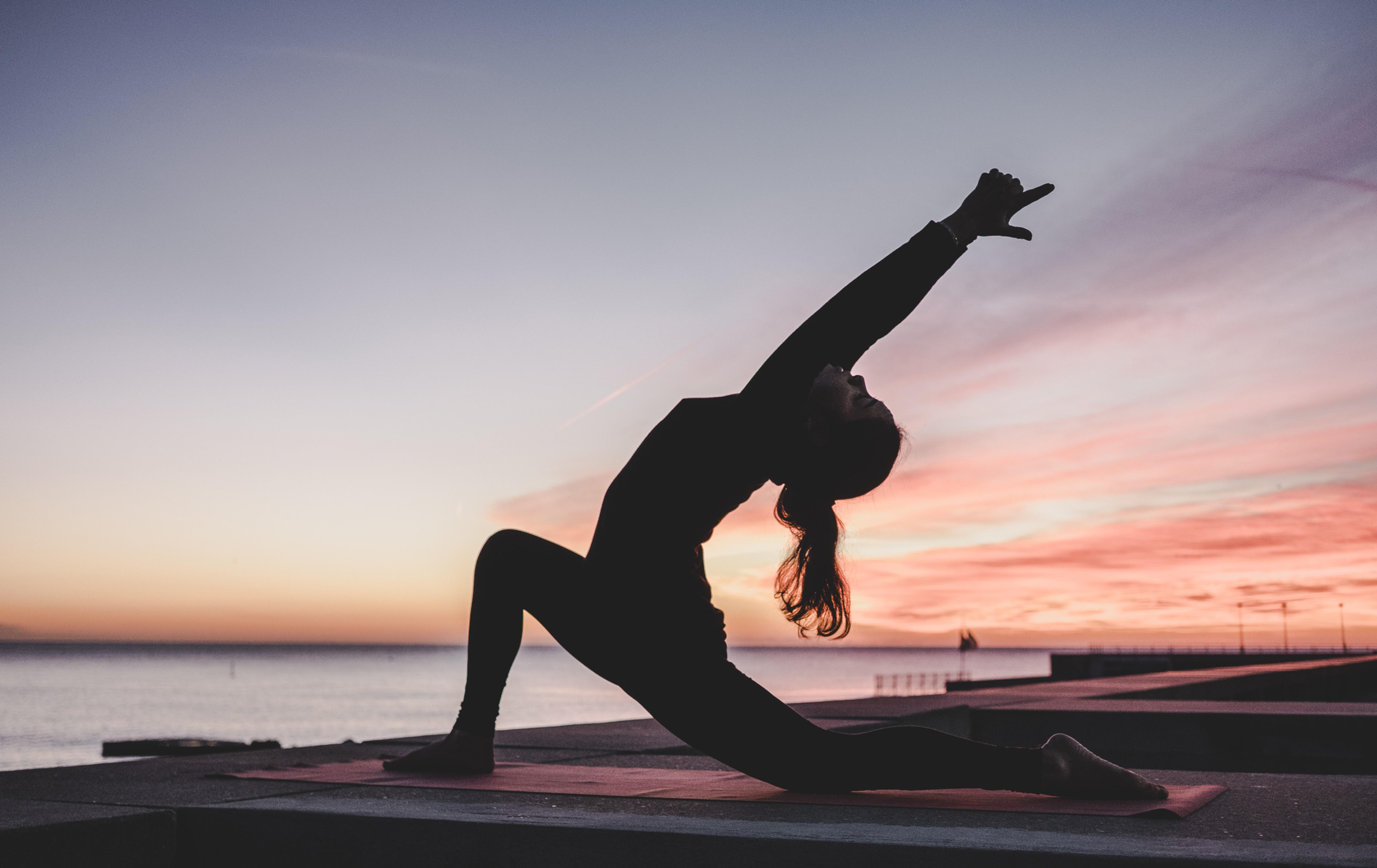 Moon Salutations + Yin Yoga