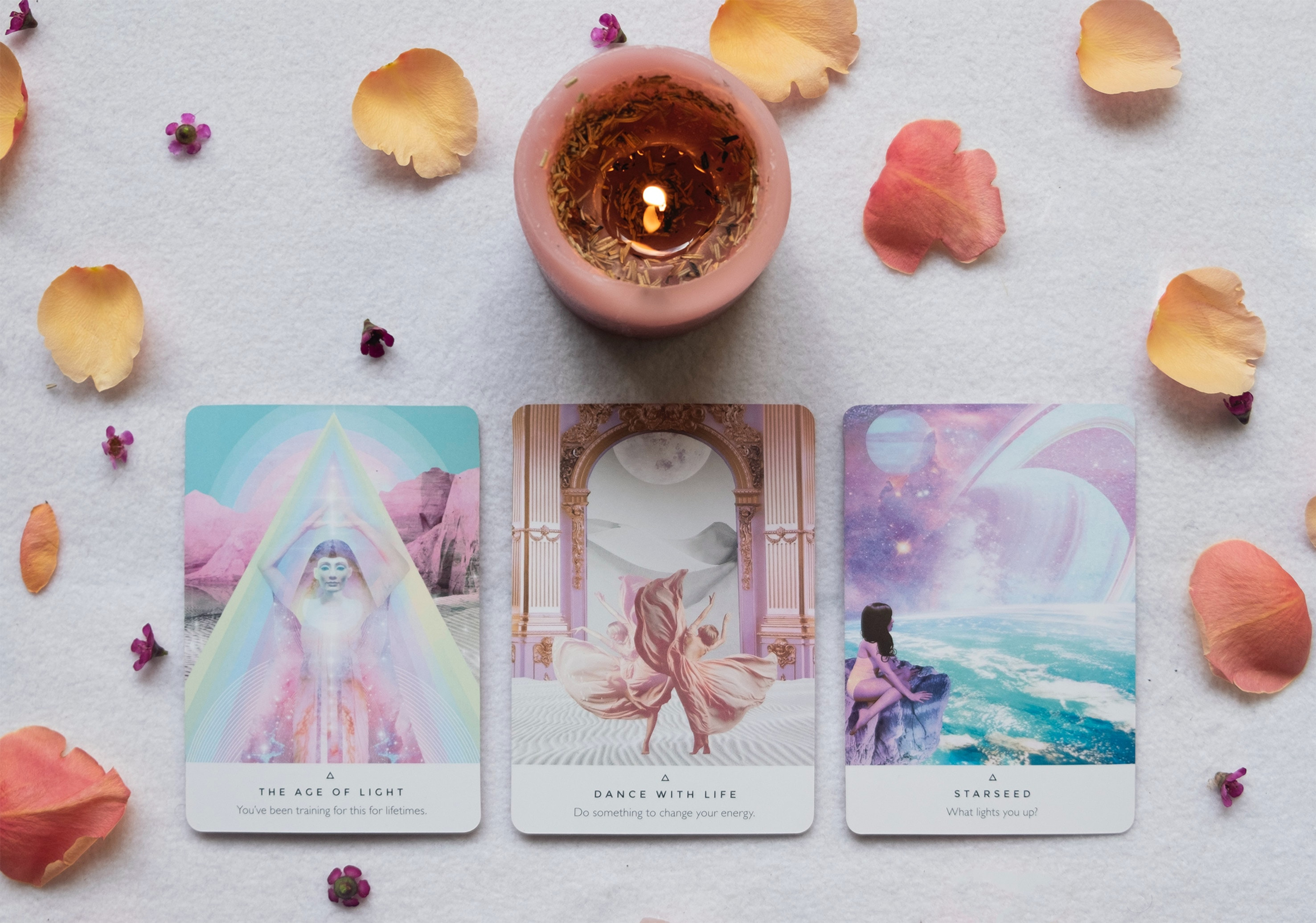 Oracle Reading and aura Cleansing
