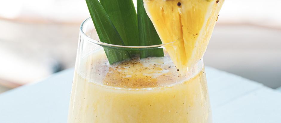 Tropical Anti-Inflammatory Smoothie: Pineapple & Turmeric