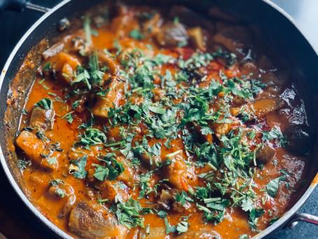 Curry de carottes