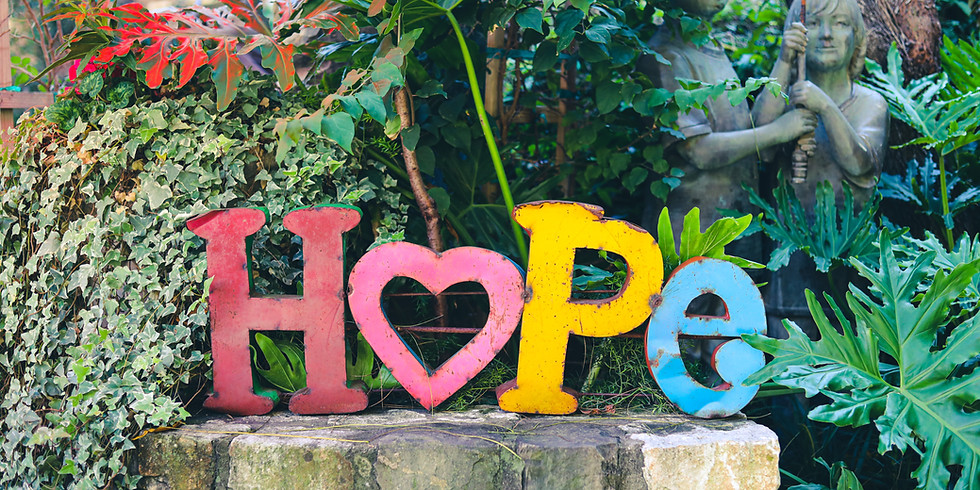 Finding Hope--the art of healing from hardship