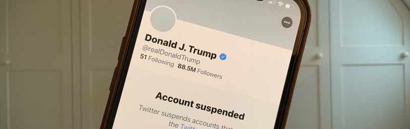 Misinformation dropped dramatically a week after Twitter banned Trump and some allies