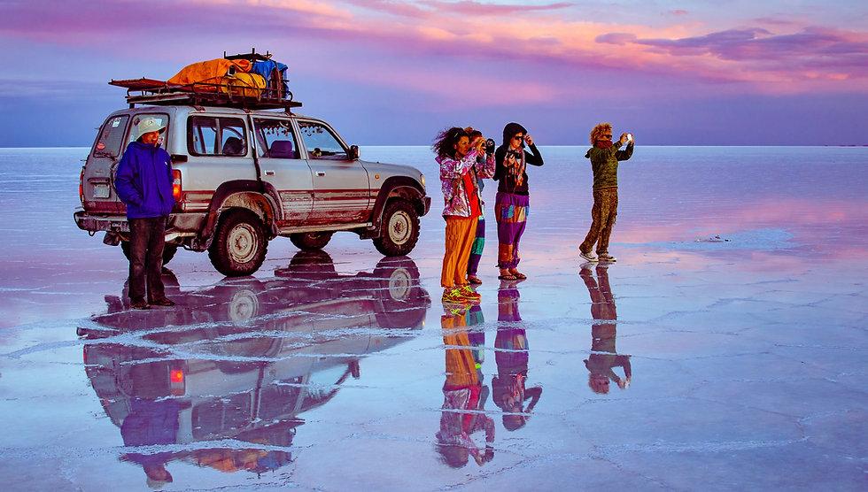 De San pedro d'Atacama au salar d'Uyuni