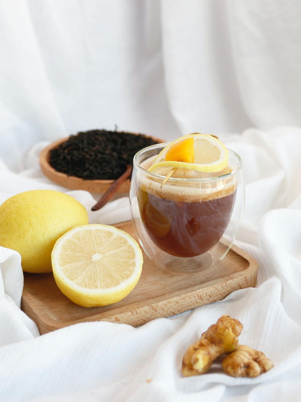 ginger-turmeric green tea