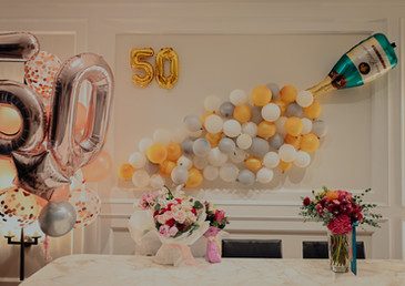 Birthday Balloons party