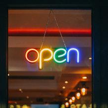 LED Open + Custom Neon Signs