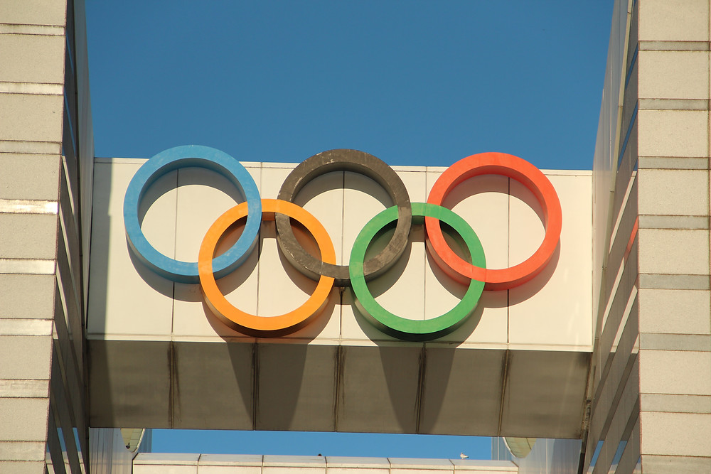 image courtesy of unsplash.com, olympic rings, olympics, olympic games, team canada