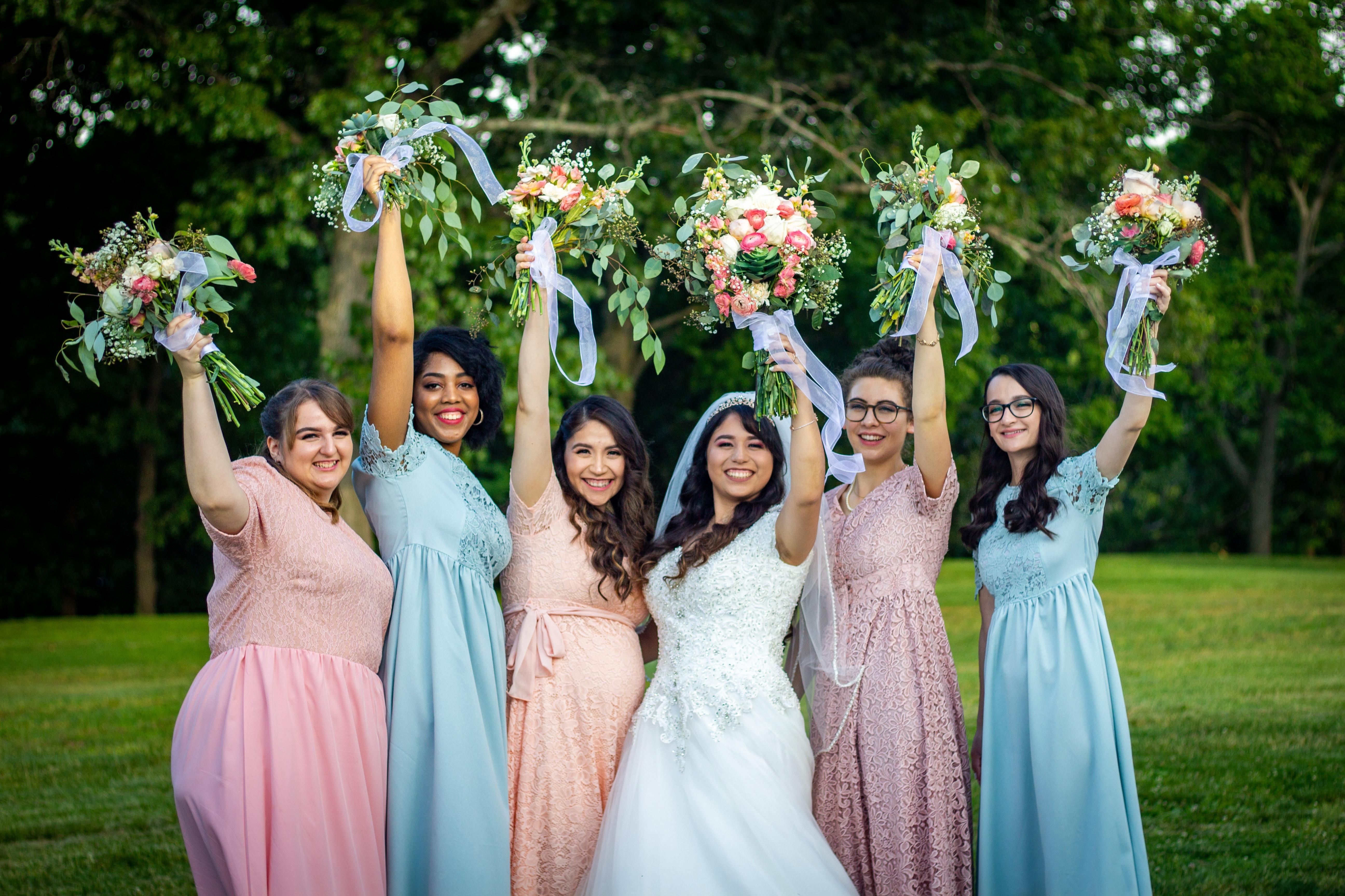 Bride + Bridal Party
