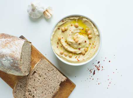 Learn Hebrew While Cooking - Hummus