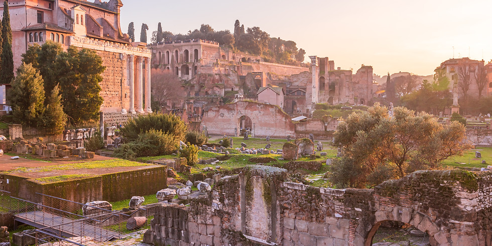 The Palatine Hill: Roman Origin Stories & The Palaces of the Emperors