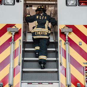 BECOMING A FIREFIGHTER -