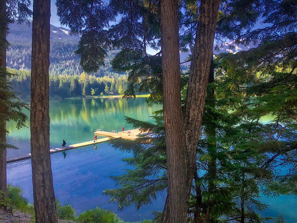 Whistler Lakes in summer