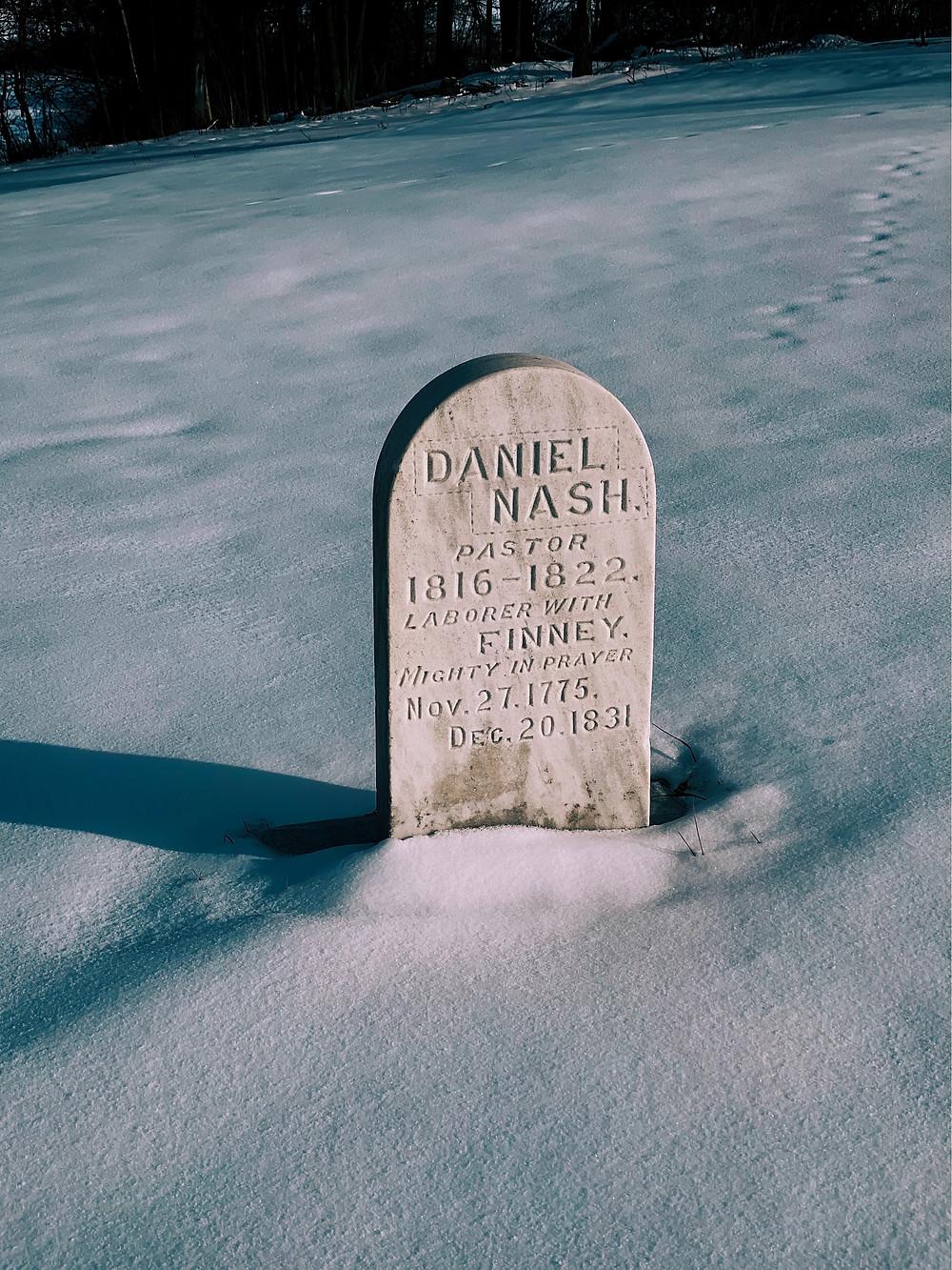 Grabstein für umweltfreundliche Bestattung