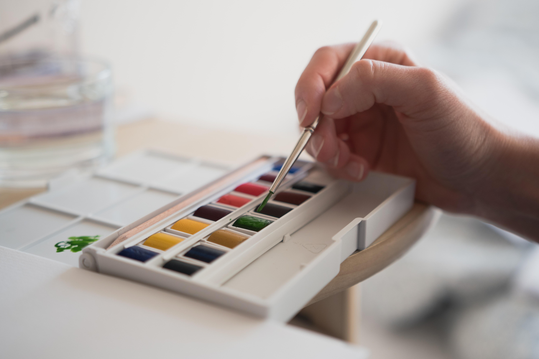Friday - Watercolor