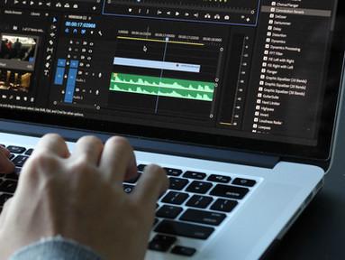 Camtasia editing demonstration