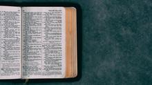 Bible Study Mondays at 1pm
