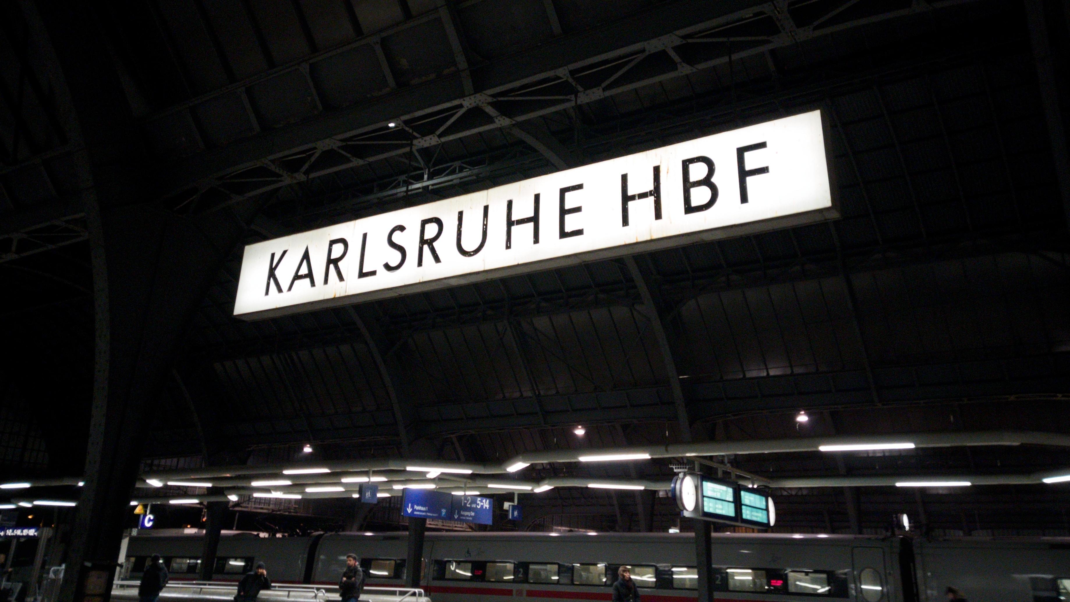Karlsruhe, Pforzheim方面配達