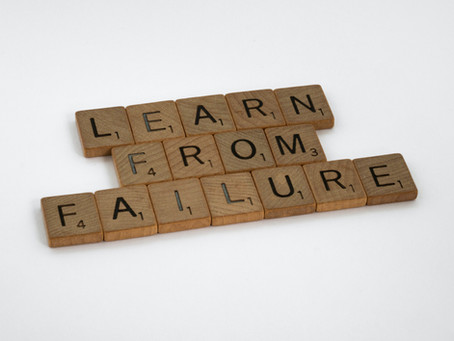 5 Things I Have Learned From Failure