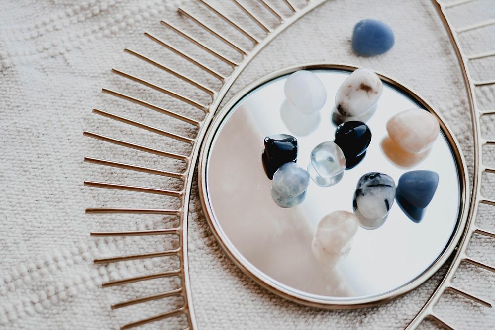 Healing properties of blue crystals