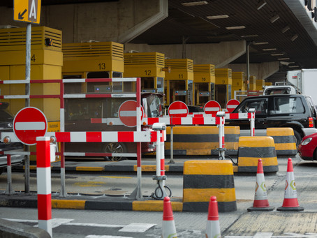 late Tolweg inning Italie - late toll collection Italy