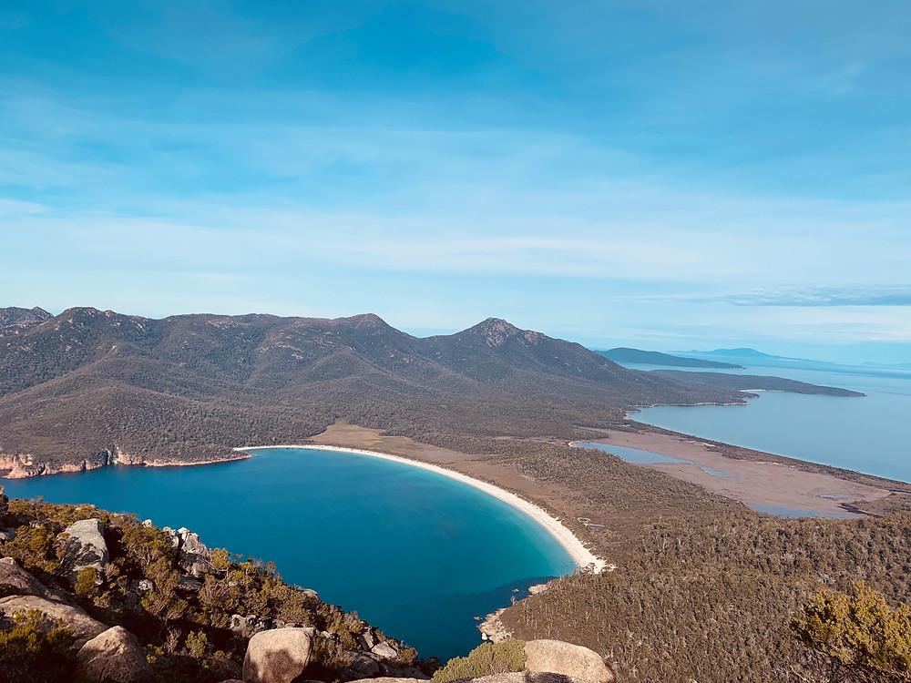 tasmania hike wineglass bay a best hike