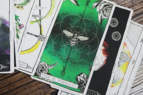 Sliding Scale Tarot Reading (any subject)
