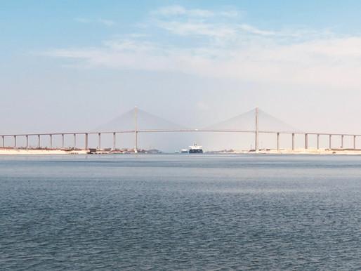 Cardboard Tubes: Suez Canal blockage?