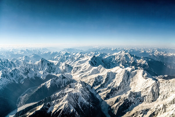 Austrian Alps in winter for holiday
