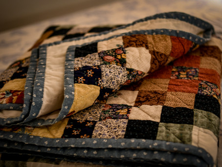 Haircuts, quilting, and casserole dishes - and another shot at a 30 day blogging challenge