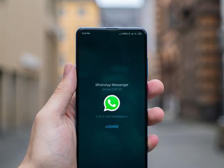 O WhatsApp lançará um recurso para autodestruição de fotos
