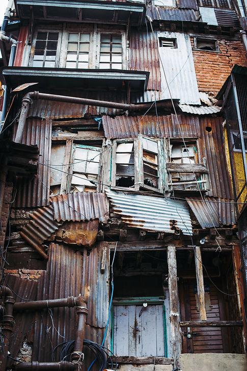 Dharavi slum in Mumbai, India (2)