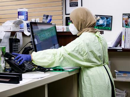 Aantal actieve viruspatiënten onder de 18.000 gedaald