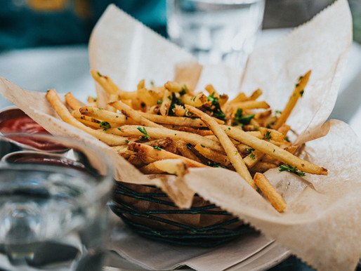 Finger-licking Weekend Food? Rosemary Fries!!