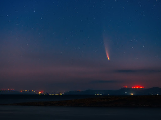 Meteor wows Norway after blazing through the night sky