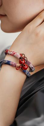 beautiful beads on a bracelet