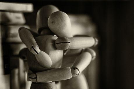 Holding tight. Feeling loss.