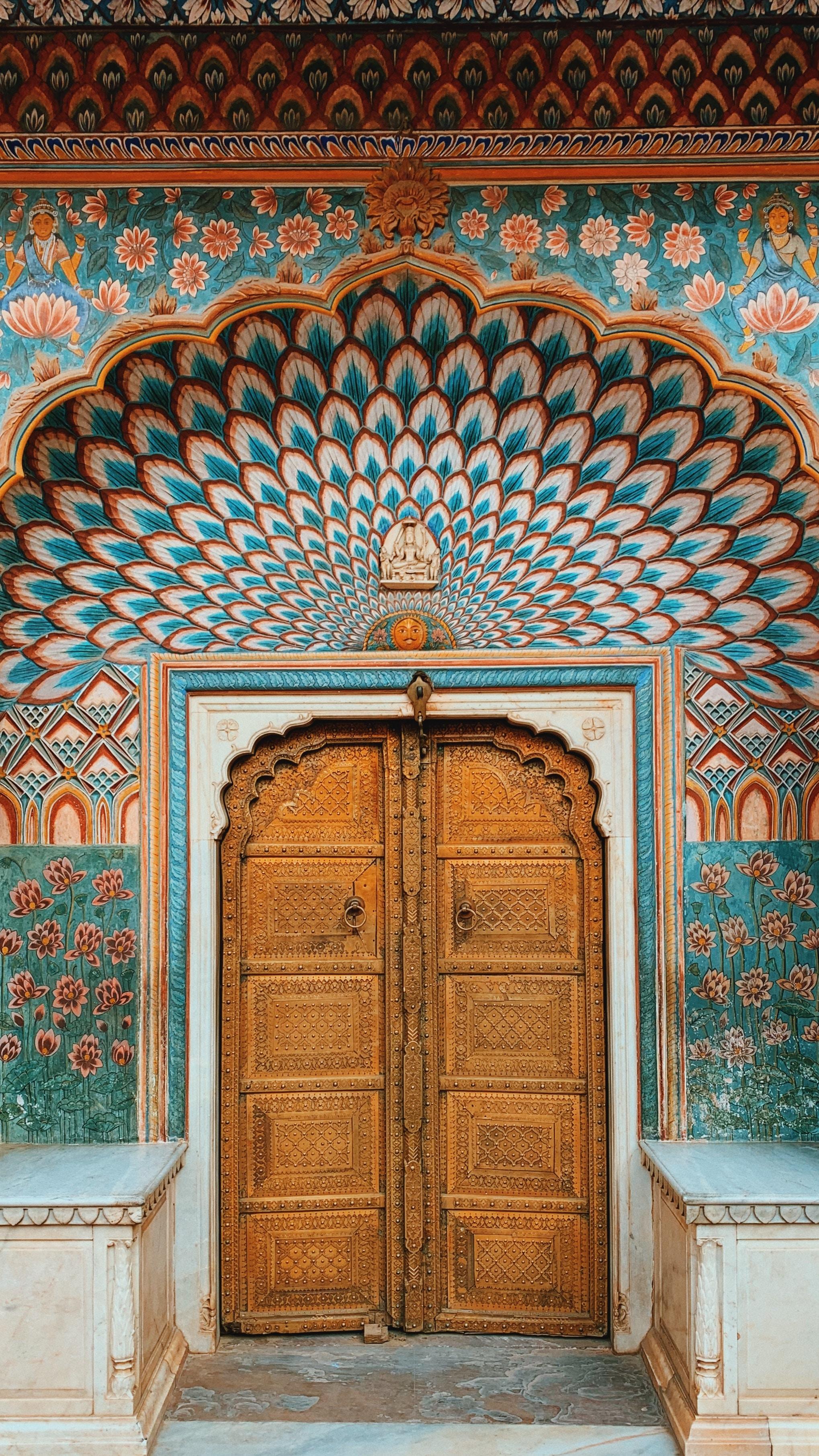 Peacock Door City Palace Jaipur