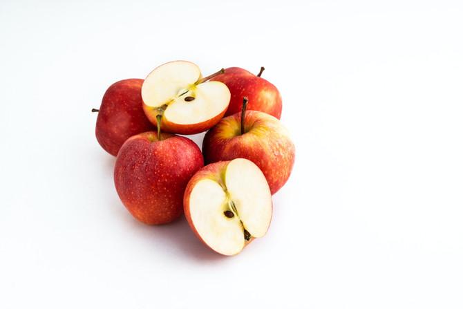 plantaardige appelmuffins