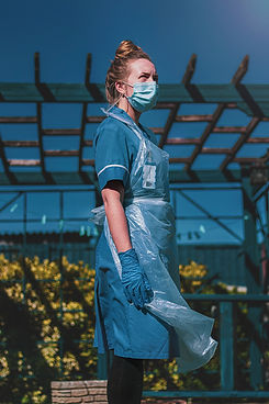 Picture on Nurse with face mask