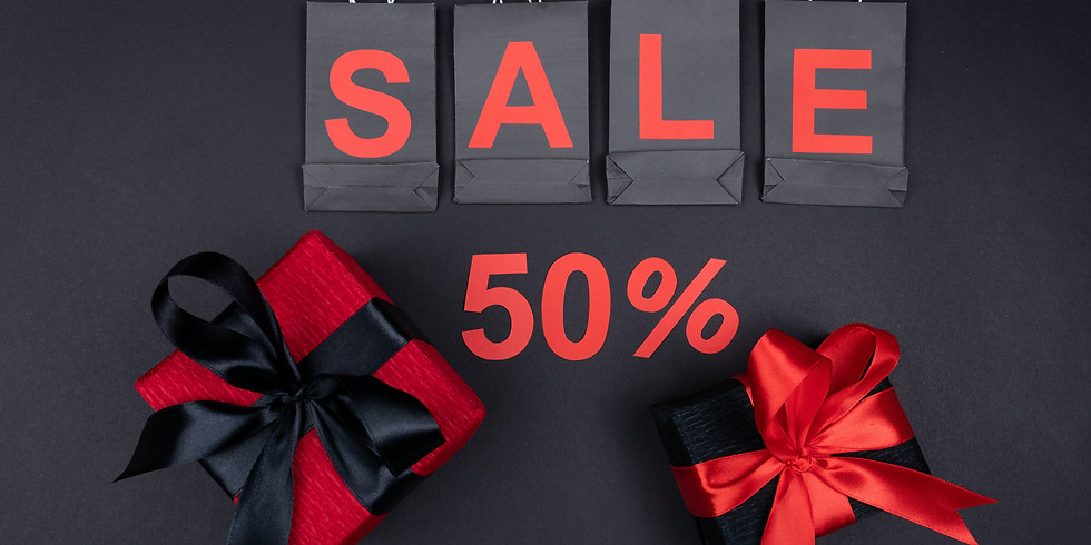 Reopening 50% SALE